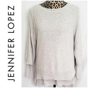 NWT Jennifer Lopez Sweater/Blouse Combo